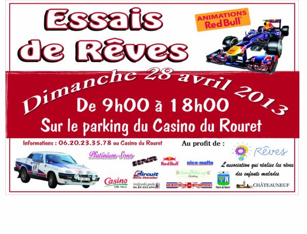 Essais de rves 2013